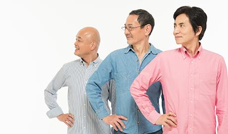 3人の男性